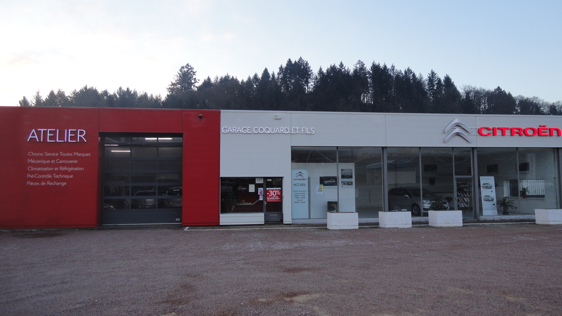 Garage coquard agent citro n accueil for Garage citroen bourg de peage